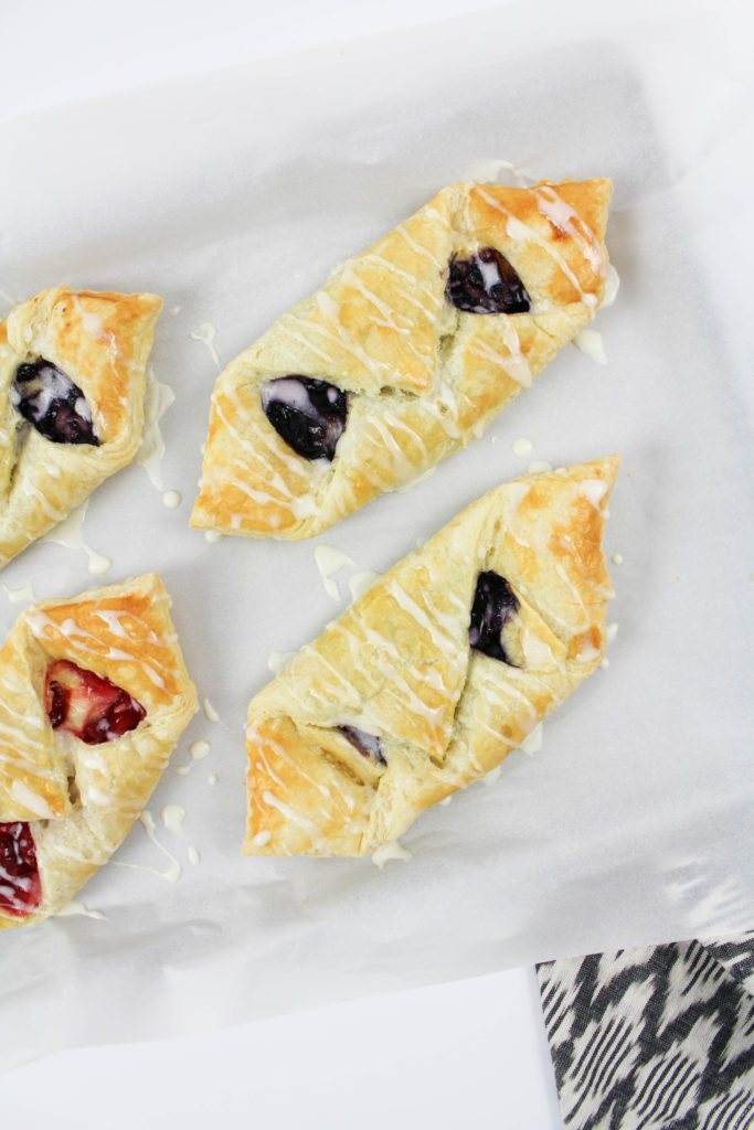 Easy Fruit Danishes