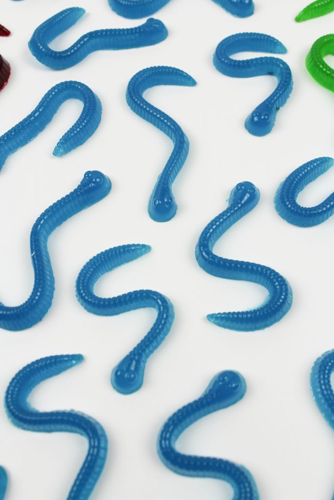 DIY Homemade Gummy Worms