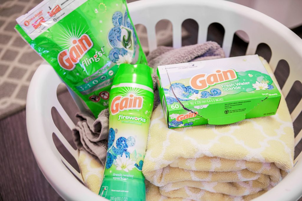 Fresh Smelling Laundry for Holiday House Guests