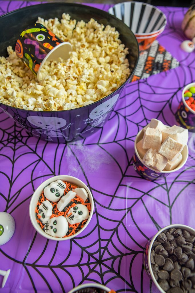 Halloween Scary Movie Night