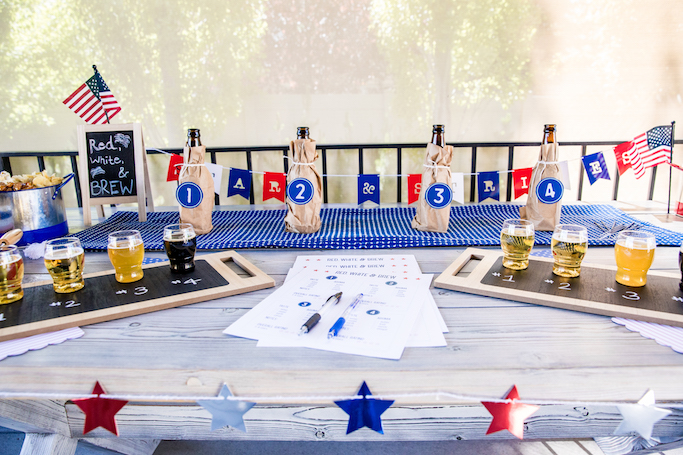 4th of July Beer Tasting Party