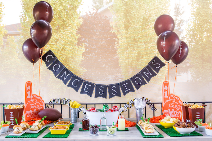 Fall Football Party Ideas