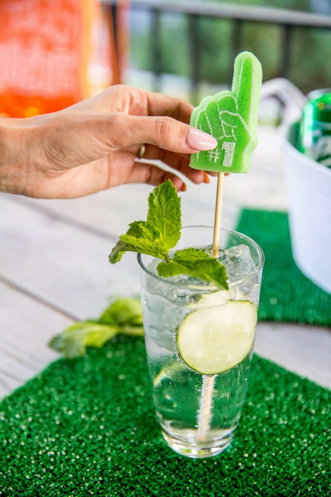 Football Cocktail Recipe: The Cucumber Cornerback