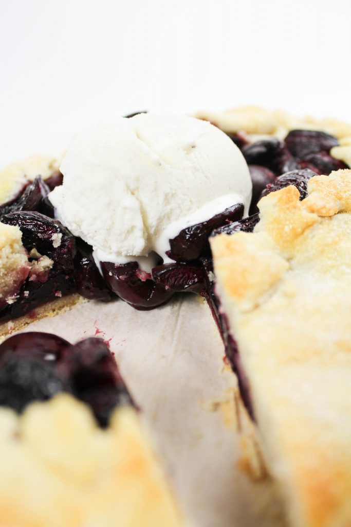 Easy Cherry Galette Recipe