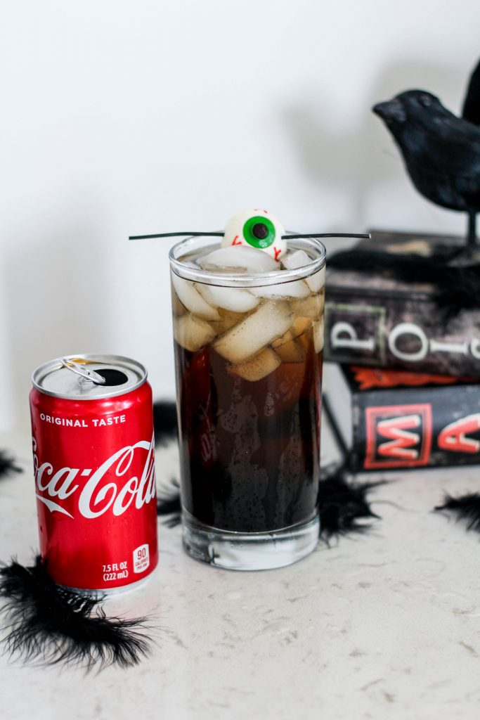 """The Black Bird"" Halloween Cocktail"