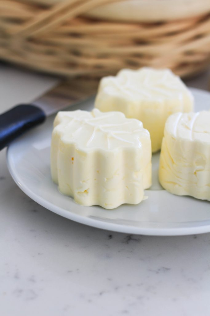 How To Make Shaped Butter