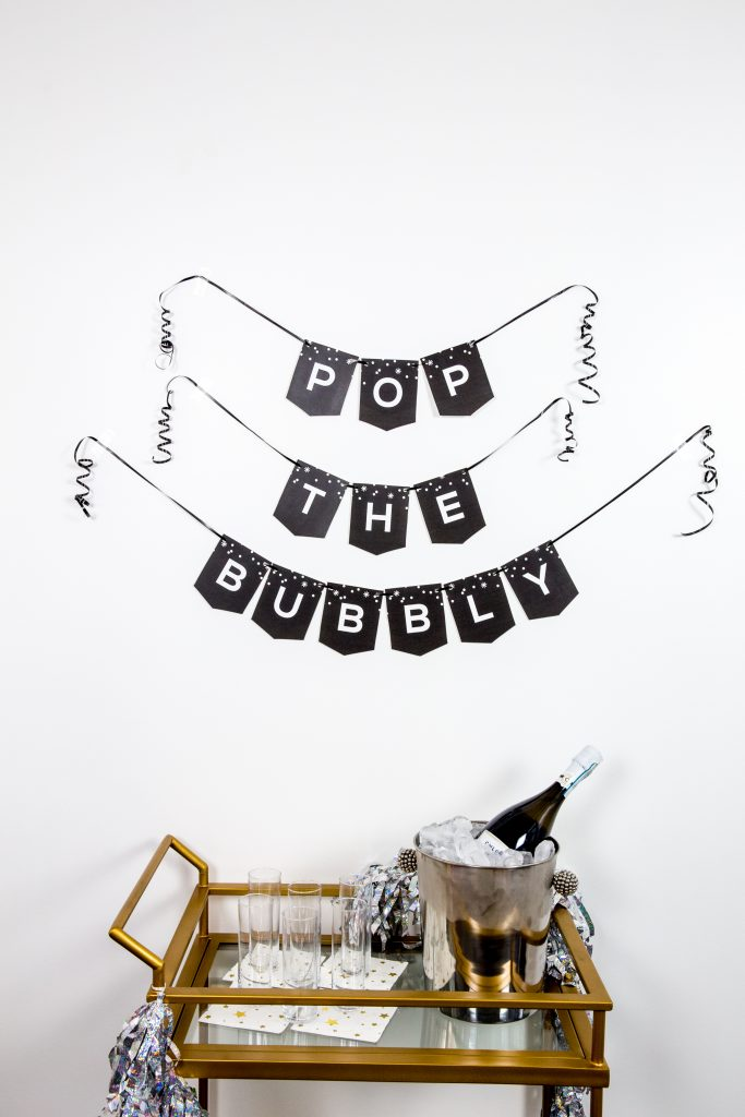 Printable New Years Eve Party Banner
