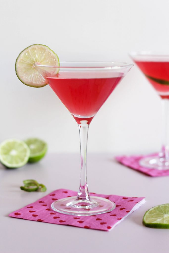 Valentine's Day Passion Cocktail