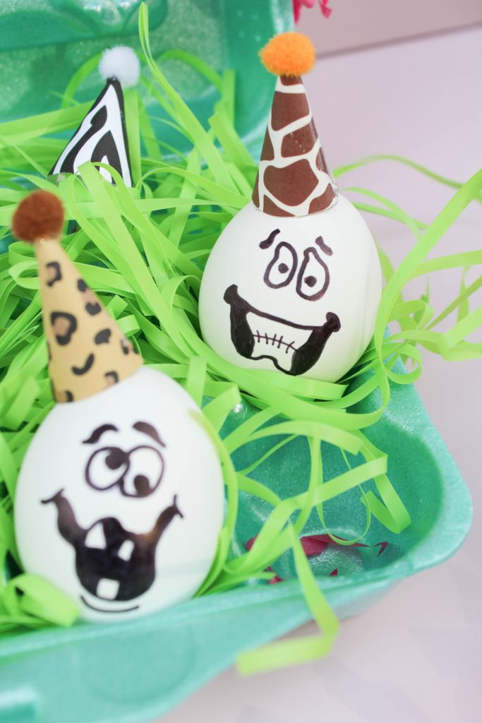 Party Animal Easter Eggs