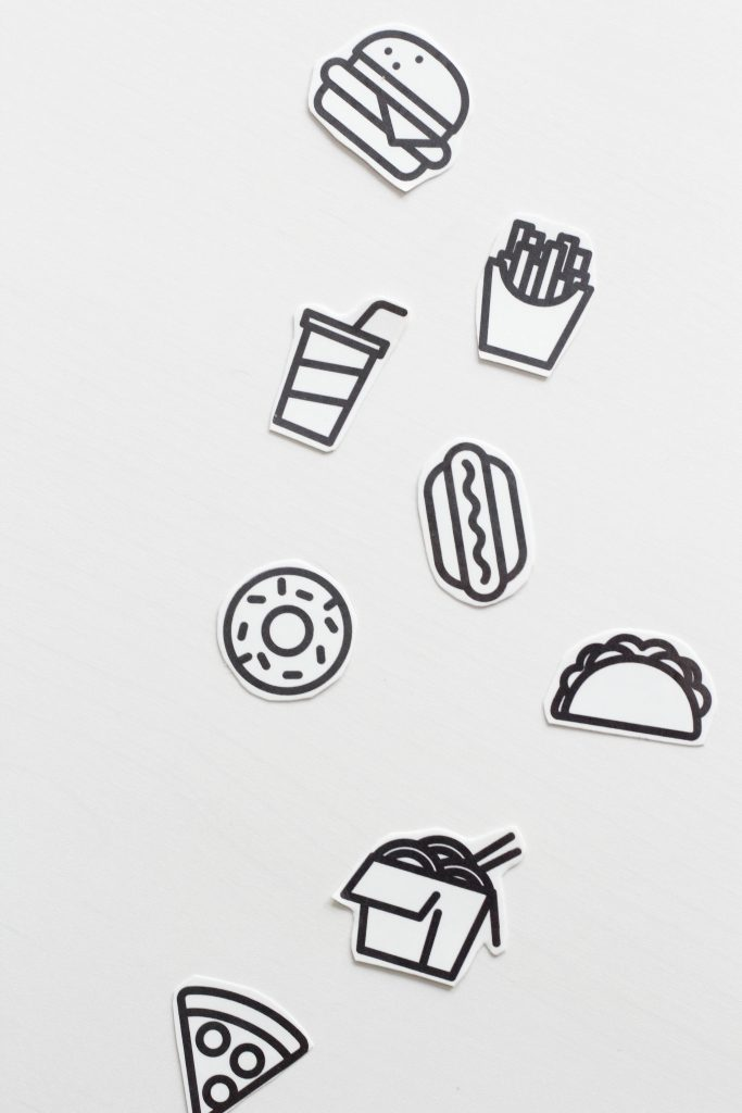 Printable Temporary Take Out Tattoos