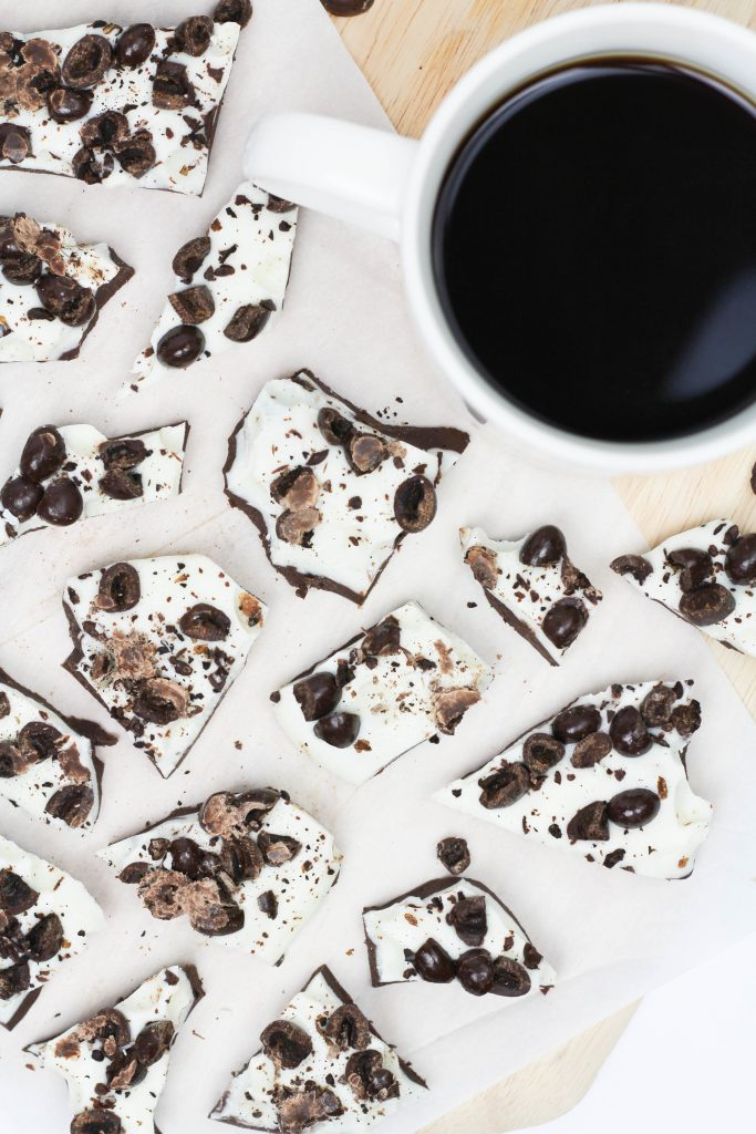 Double Chocolate Coffee Bark