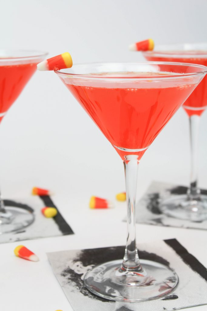 Candy Corn Halloween Cocktails